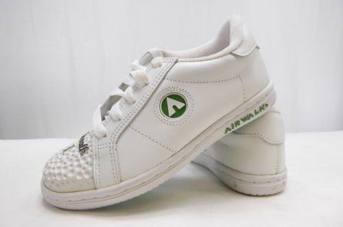 NEW-AIRWALK-JIM-GOLF-Rare-Sneaker-Vintage-Tennis-Shoe-White-FREE-SHIP