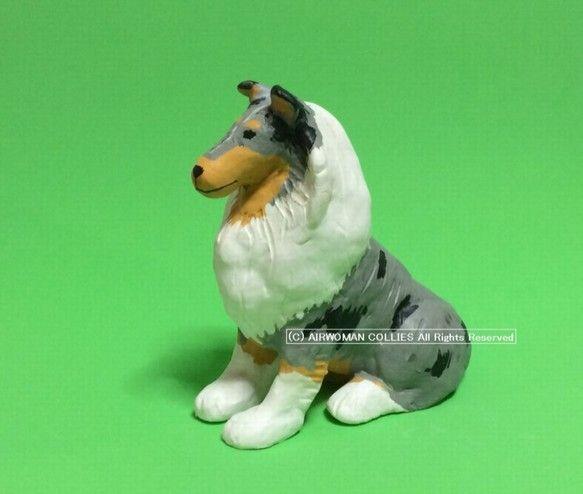 今や希少犬種となったラフコリーの中でも珍しい柄であるブルーマールです。当犬舎の繁殖犬をモデルにしています。高さ12cm、つま先から尾の付け根までの長さは11....|ハンドメイド、手作り、手仕事品の通販・販売・購入ならCreema。
