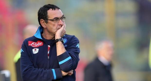 """Bologna-Napoli, Sarri: """"Scudetto? Nel contratto premi previsti per altri obiettivi"""" - http://www.maidirecalcio.com/2015/12/06/bologna-napoli-sarri-scudetto-donadoni.html"""