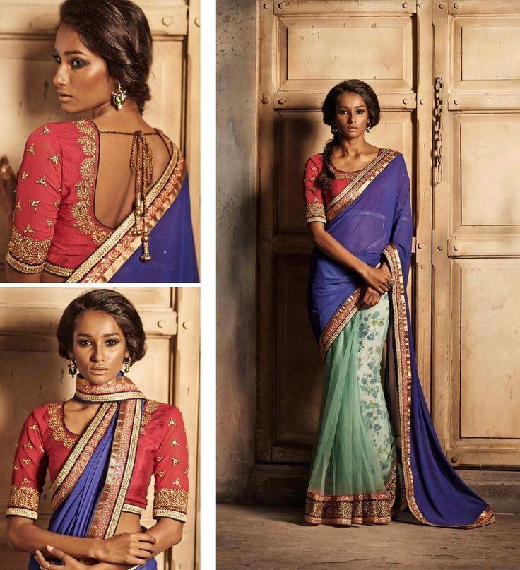 Buy 1 Get 1 Free Designer Indian Dress Pakistani Ethnic Partywear Sari Bollywood #kriyacreation