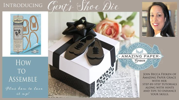 Nice way to finish off a box. APG - How to Assemble Gents Shoe Diecut
