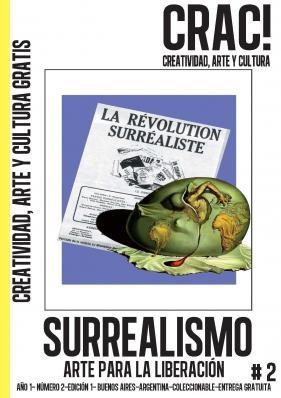 """Crac! Magazine - #2 """"Surrealismo""""  http://www.cracmagazine.com/"""