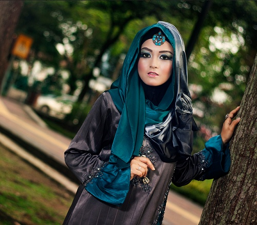 Evening Hijab Dress