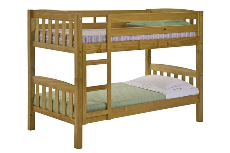 The American Antique Finish Bunk Beds designed to fit in bedrooms on a small are a great advantage when space is of a minimum The fresh look