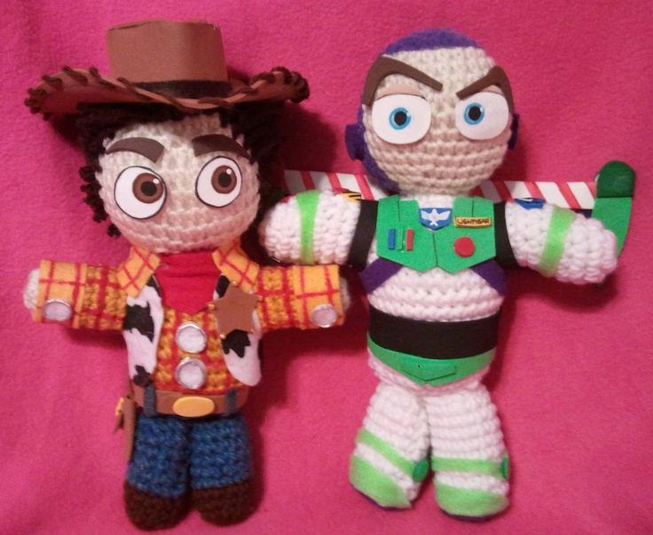 Toy Story Knitting Patterns Woody : 17 Best images about Crochet on Pinterest Crochet disney, Free pattern and ...