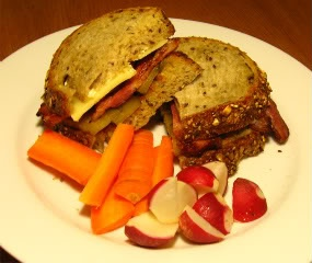 Bacon Cheese and pickle Grilled Sandwich | Panini recipes | Pinterest