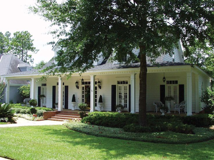 88 best classic southern style images on pinterest front Acadian river house plans