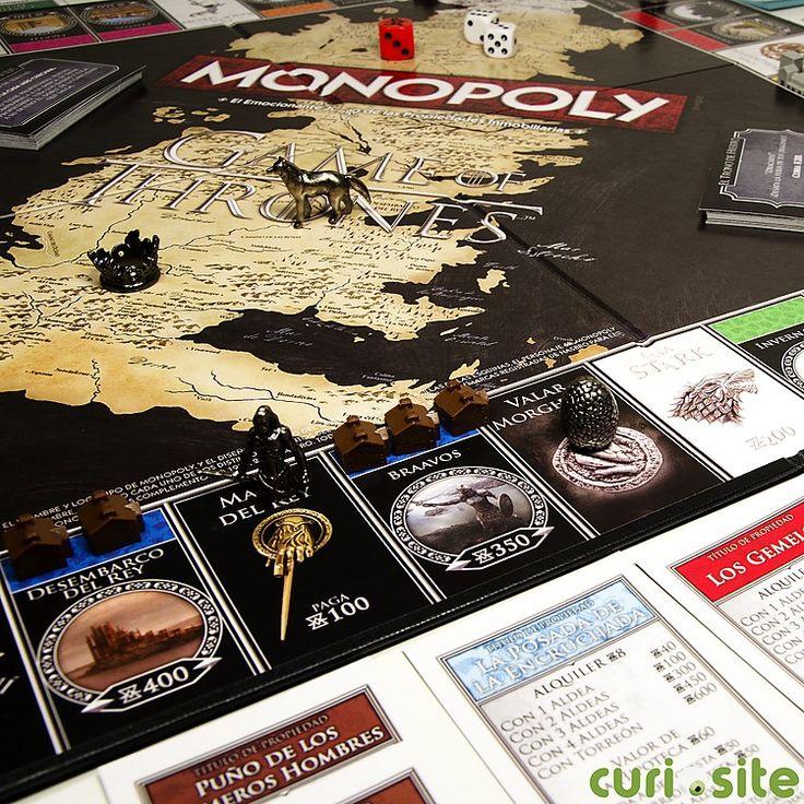 Monopoly Juego de Tronos: ganar o morir...