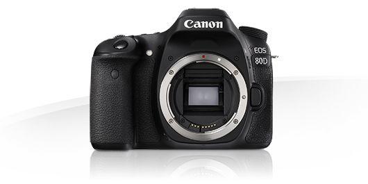 Canon EOS 80D - Digitale EOS SLR-spejlreflekskameraer og kompakte systemkameraer - Canon Danmark