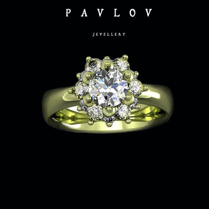 P A V L O V  clasic jewellery  #pavlov #pavlovjewelry #jewelry #gold #jewels #ring
