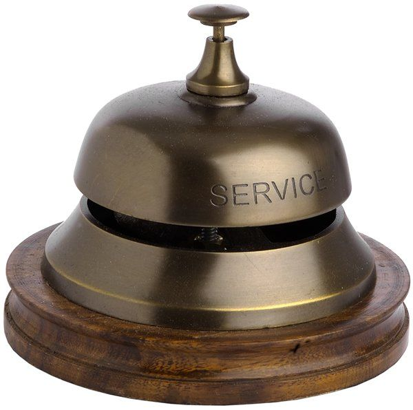 Our antique finish counter bells make the perfect finish to any desk, especially useful in hotel lobby's and restaurants. Description from brilliantwallart.co.uk. I searched for this on bing.com/images