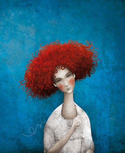 Gabriel Pacheco: Red Hairs, Luis Gabriel, Gabrielpacheco, Color, Ilustracion, Illustration, Gabriel Pacheco, Children Book, Of Heart