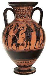 Athenian ovoid ht. 40cm. -görög