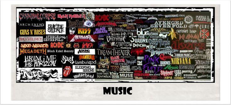 T-SHIRTS & HOODIES  MUSIC