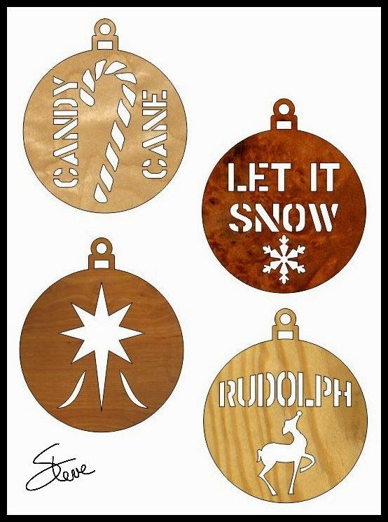 Scroll Saw 3d Christmas Ornament Patterns - WoodWorking ...