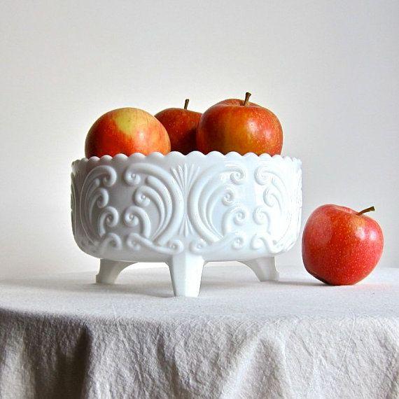 White milkglass, beautiful....
