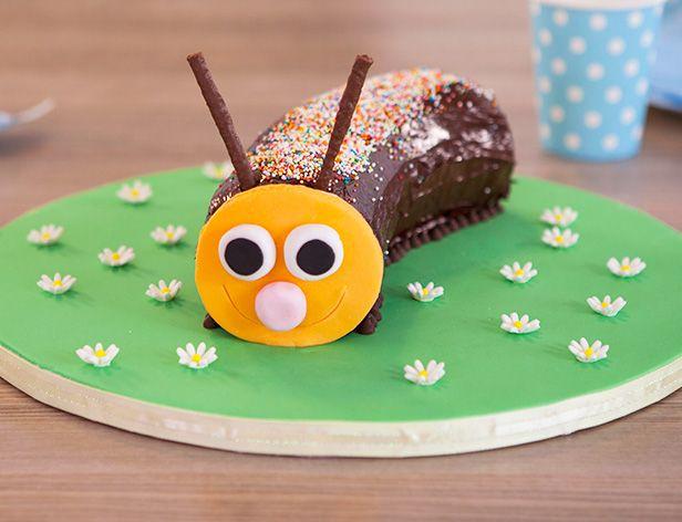 Chocolate Caterpillar Cake