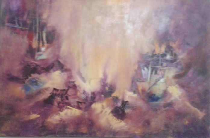 Lía Russo - Oleo sobre tela  www.esencialismo.com