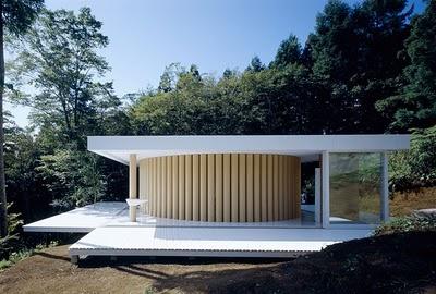 House made from Paper - Shigeru Ban