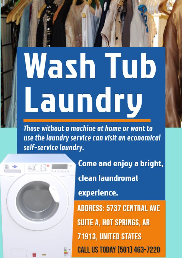 Washtub Laundry Is One Of The Best Laundry Service Provider In Hot