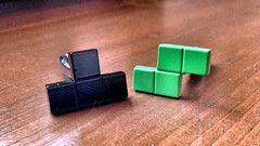 I Spend All Day Playing Tetris Cufflinks