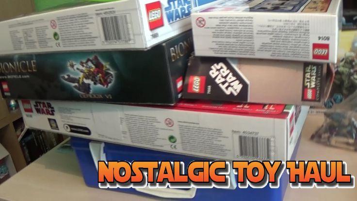 All My Old Toys! - Nostalgic Toy Haul | Original Pokemon Cards, Old Lego...