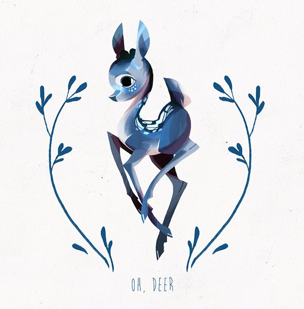 Benedetta Fiore OH, DEER on Behance