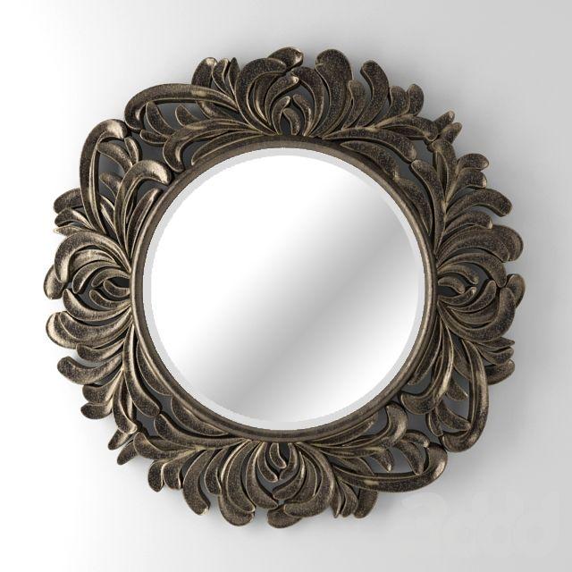 Зеркало Palm Silver (Пальм)