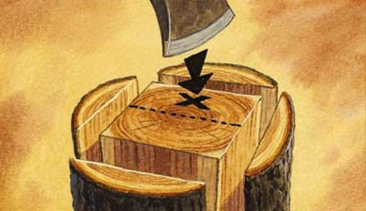 split wood, chop wood, split big log, split log, axe tip, how to use an axe, firewood, chop firewood, split firewood, firewood tips