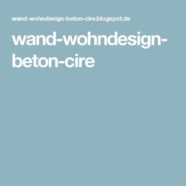 44 best beton floor - lifeboxx wand & wohndesign images on, Innenarchitektur ideen
