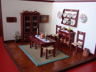 Miniatures Forever: Dois ambientes Alentejanos para a feira