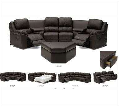 "The ""someday seating"" for my living room / home theater...if we do a couple of these sectionals in the living room I would be ok with a theater set up!"