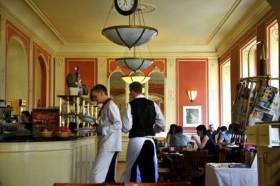 One of our favourites - Cafe Louvre - a lovely spot for breakfast, lunch or dinner.