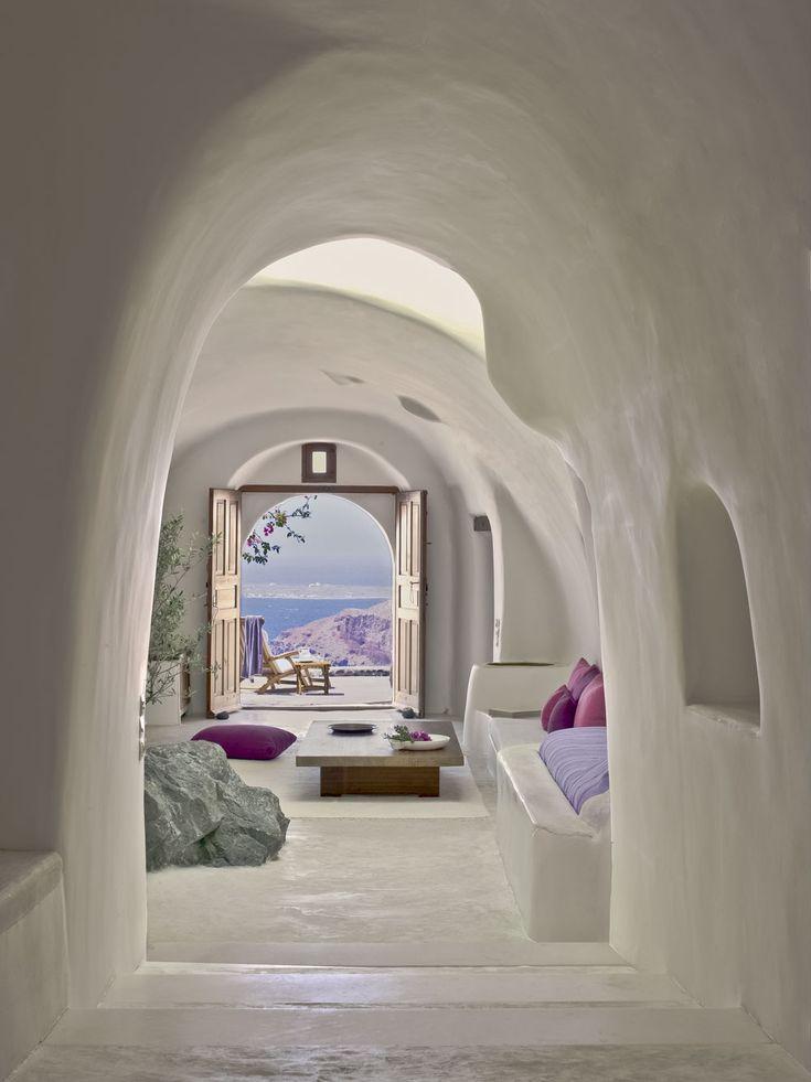 Perivolas Hotel in Santorin