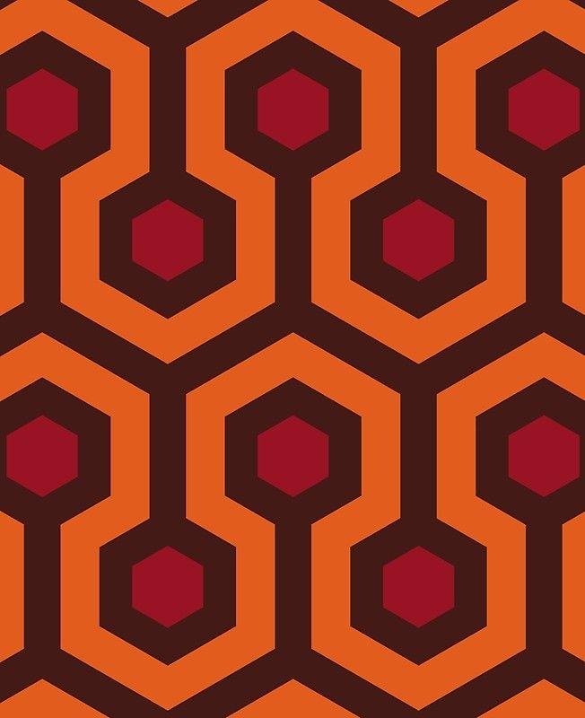 Overlook Hotel Carpet The Shining Ipad Case Skin Overlook
