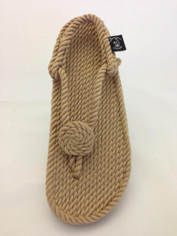Sandały z liny- Ręcznie wykonane FLOWER FLOP