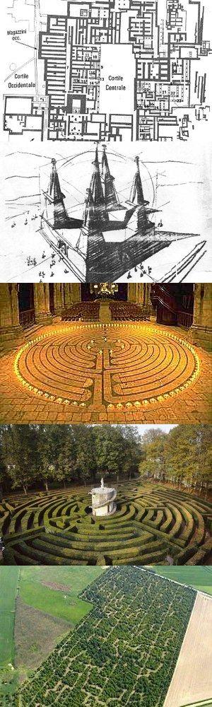 Cinque celebri labirinti