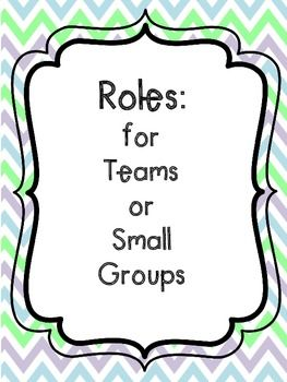 This set consists of 14 role cards (7 in English and 7 in Spanish for students to use during teamwork and small groups.   -In English: Translator, Materials Manager, Writer, Reporter,                     Technician, Leader, and Illustrator -In Spanish: Traductor, Encargado de materiales, Escritor,                       Reportero, Tecnico, Ilustrador y Lider de equipo  Assigning roles during small cooperative groups or teams enables students to equally participate in their teams and ...