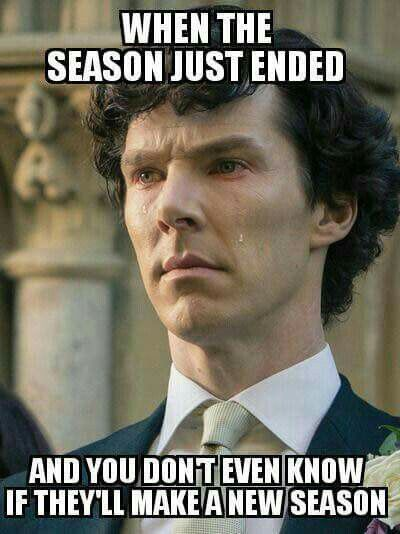 I believe in Sherlock Holmes.<<- They had better make season 5 or I don't know what I'll do!!!!!