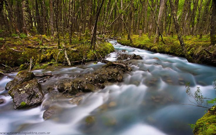 Famous River around the Earth Fitz Roy in Argentina