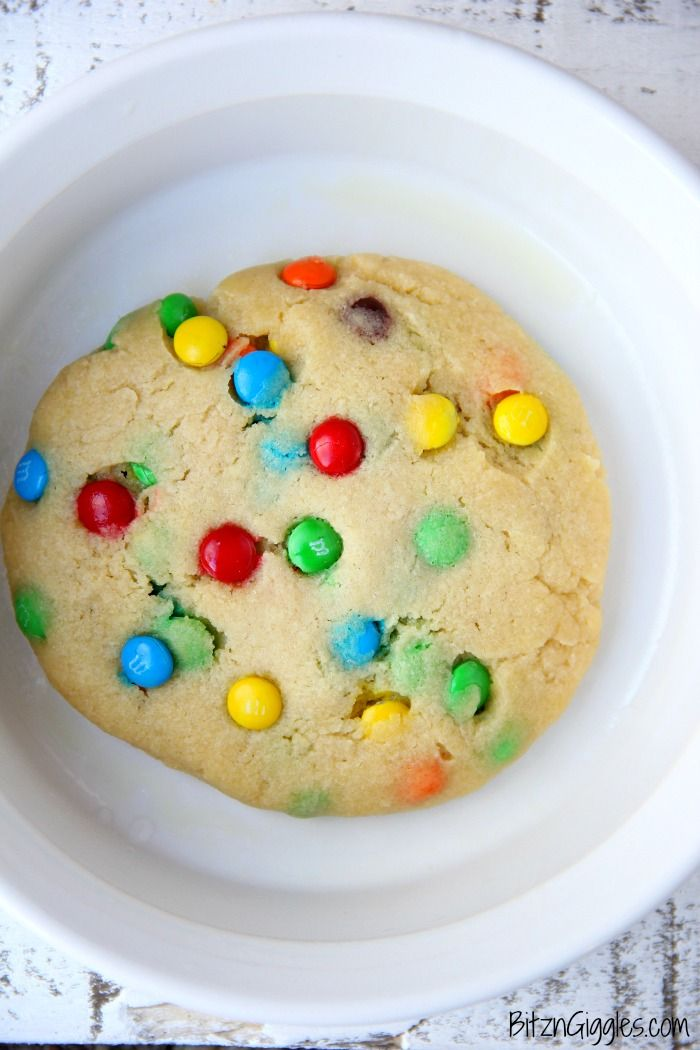 M Microwave Cookie A Soft Warm And Delicious You Can Make Right In