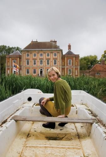 green and mustard   Lucy Worsley