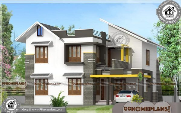 Home Front Design | Kerala 2 Floor 30 Lakh Budget House Plan Photos