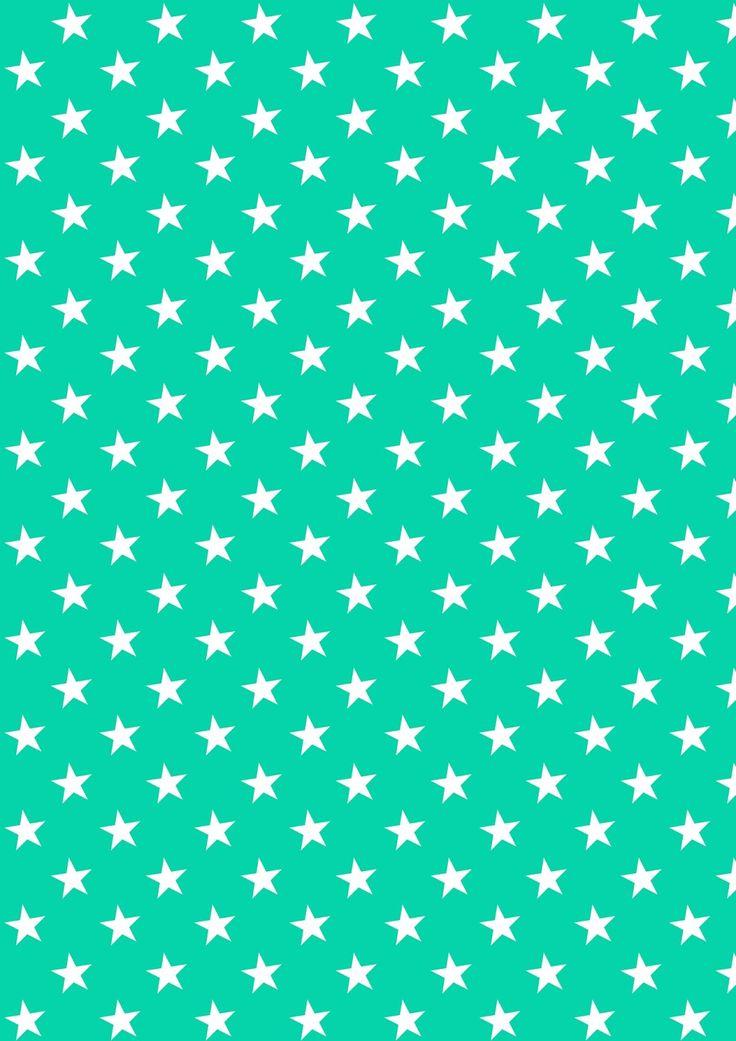 FREE printable star pattern paper ^^