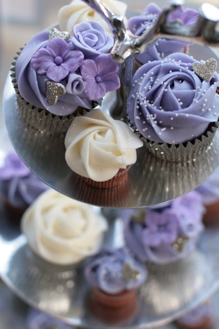 Lilac love #cupcakes from the wonderful Starbird Bakehouse, Nelson, BC.