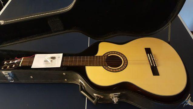 Washburn C64CE Classical Acoustic/Electric Guitar w/ Case