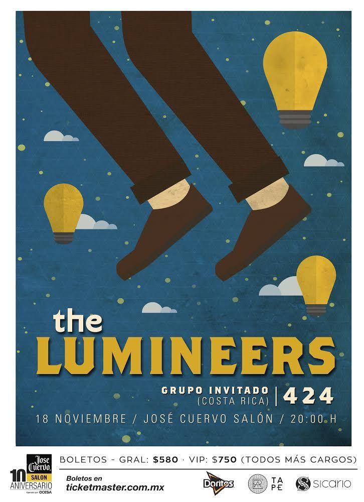 The Lumineers por primera vez en México