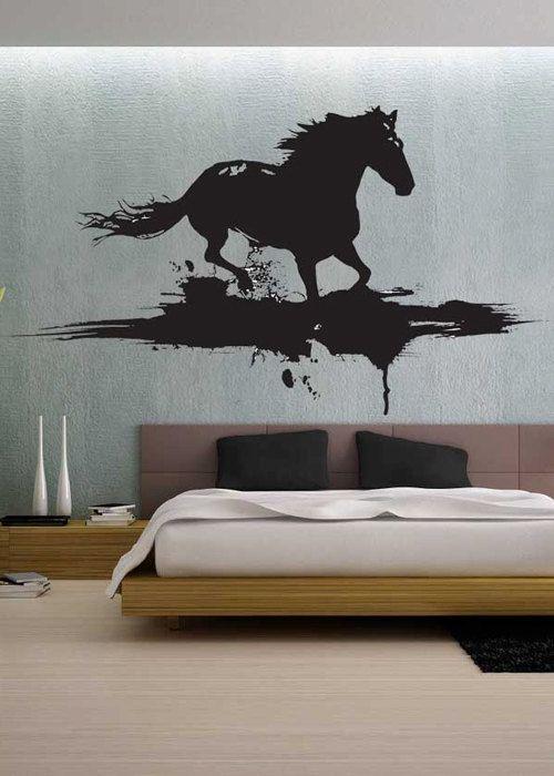 Modern Horse   Vinyl Wall Decals Murals Stickers Art Graphic     Byu2026