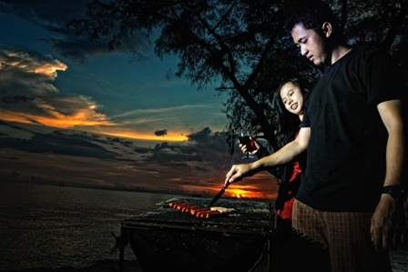 BBQ at Panambungan Island