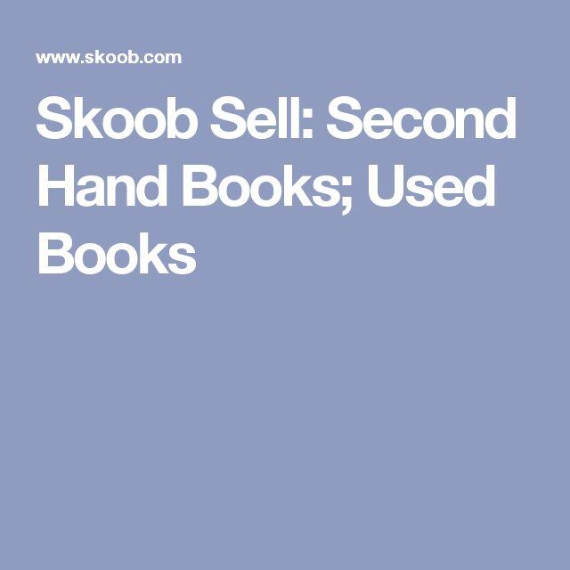 Skoob Sell: Second Hand Books; Used Books